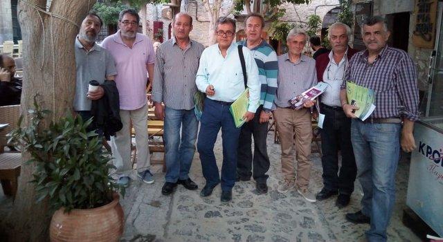 ΔΙΚΤΥΟ Πολιτών Χίου: Ικανοποίηση από την επίσκεψη στα Μαστιχοχώρια