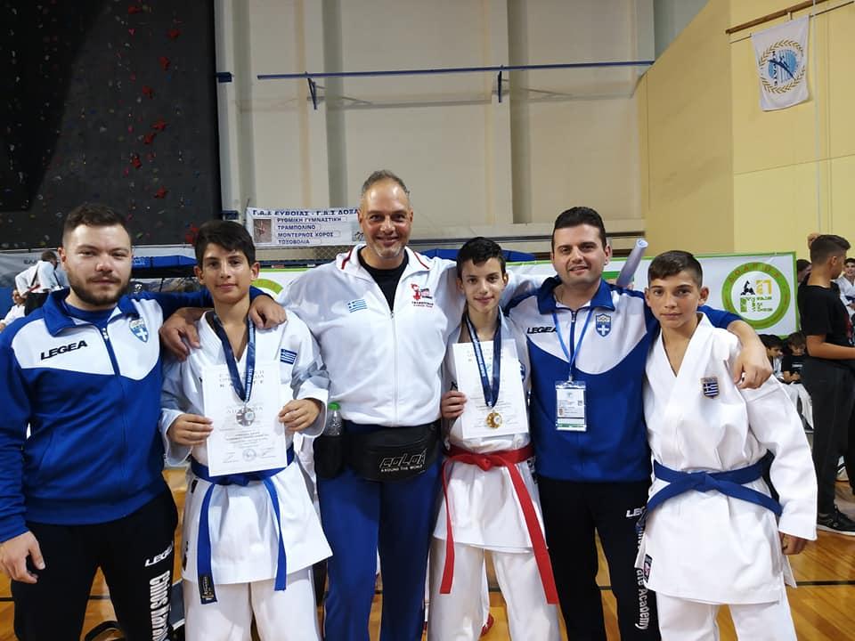 ΣΤ. ΚΑΡΜΑΝΤΖΗΣ: Συγχαρητήρια για τις επιτυχίες του Chios Karate Academy