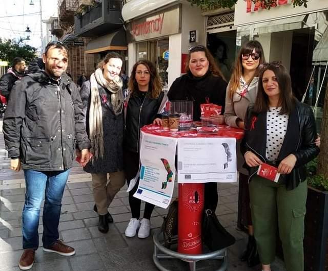 ΚΕΝΤΡΟ Κοινότητας: Ενημερωτική δράση στην Απλωταριά για το AIDS